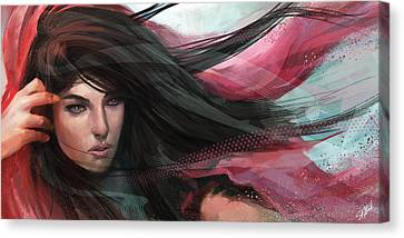 Wind Canvas Print by Steve Goad