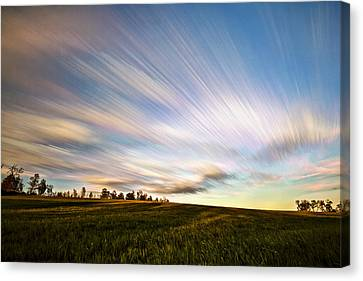 Canvas Print - Wind Stream Streaks by Matt Molloy