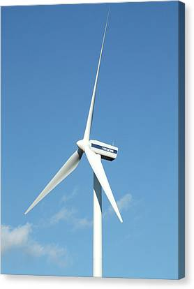 Wind Turbine Canvas Print by Alex Bartel