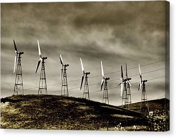 Wind Warriors Iv Canvas Print by Bob Wall