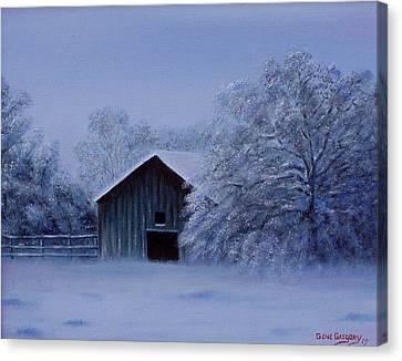 Windberg Barn Canvas Print