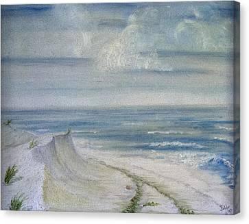 Windblown Canvas Print by Judy Hall-Folde