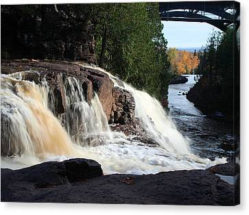 Winding Falls Canvas Print