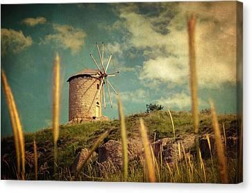 Windmill 14 48 Canvas Print by Taylan Apukovska