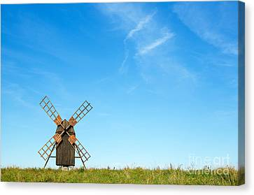 Windmill Portrait Canvas Print