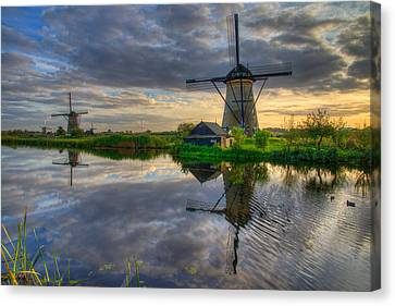 Windmills Canvas Print by Chad Dutson
