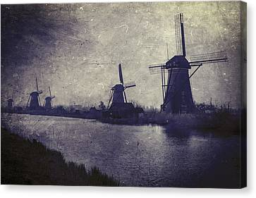 Windmills Canvas Print by Joana Kruse