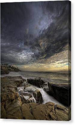 Windnsea Light Found Canvas Print by Peter Tellone