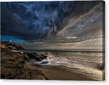 Windnsea Stormy Canvas Print