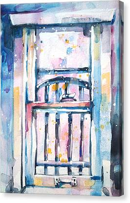 Window 1 Canvas Print by Kelly Johnson