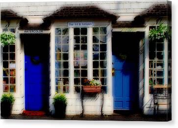 Canvas Print featuring the photograph Window Art by Caroline Stella
