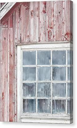 Barn Windows Canvas Print - Window by Cora Niele