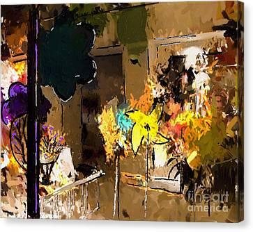 Window Dressing As Still Life Canvas Print by Arne Hansen