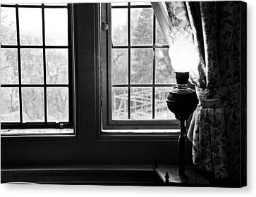 Window Canvas Print by Fatemeh Azadbakht