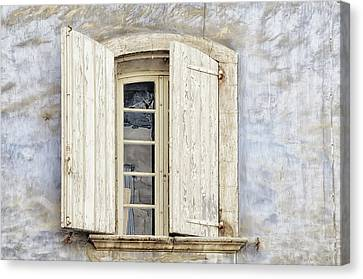 Barn Windows Canvas Print - Window IIi by Cora Niele