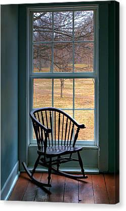 Window In Florissant Canvas Print by Nikolyn McDonald