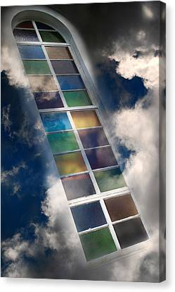 Window Of Healing Vision Canvas Print by Christina Rollo