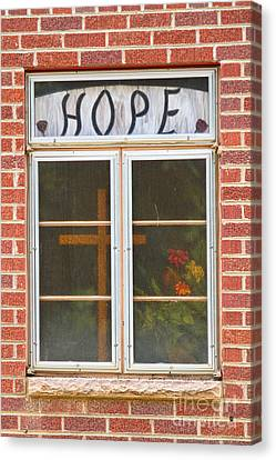 Window Of Hope 2 Canvas Print by James BO  Insogna