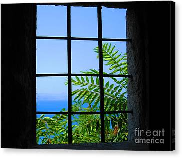 Canvas Print featuring the photograph Window Of Hope by Andreas Thust