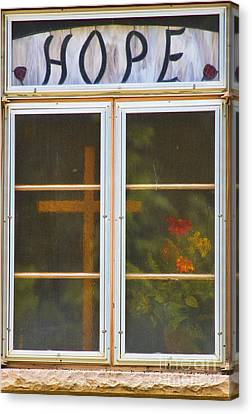 James Insogna Canvas Print - Window Of Hope by James BO  Insogna