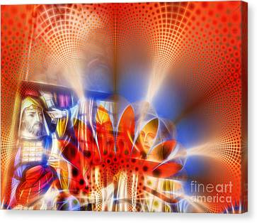 Window Of Illusions Canvas Print by Ian Mitchell