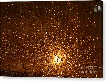 Window Pain Vitoria Spain Canvas Print by Ty Cook