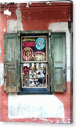 Window Shop Canvas Print by Kenneth Feliciano