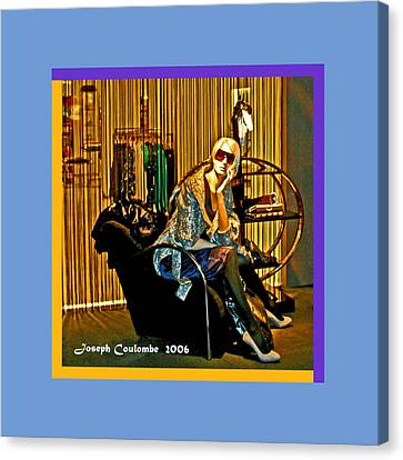 Window Shopping Canvas Print by Joseph Coulombe