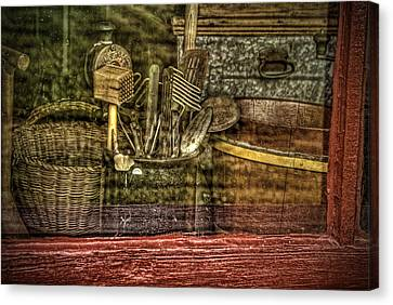 Window Shopping Canvas Print by Mary Timman