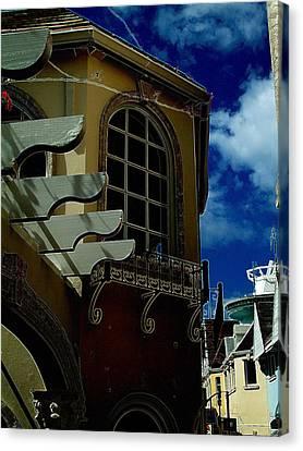 Window St Thomas Canvas Print by John Holfinger