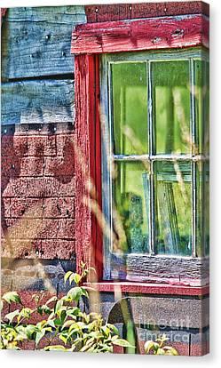 Window Story Canvas Print