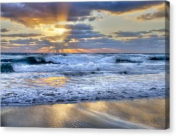 Window To Heaven Canvas Print by Debra and Dave Vanderlaan