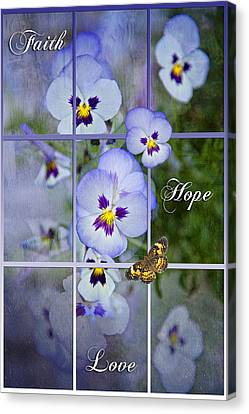Window To Life Canvas Print by Bonnie Barry