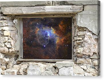Window To Space Canvas Print