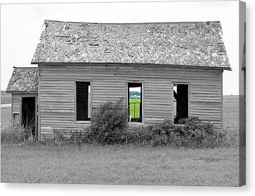 Window To The Future Canvas Print by Bonfire Photography