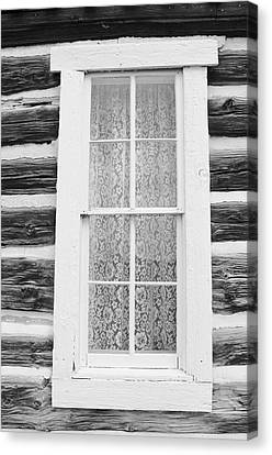 Canvas Print featuring the photograph Window To The Old West by Diane Alexander