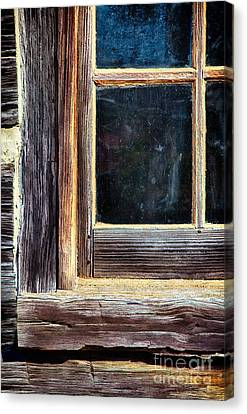 Window To The Past Canvas Print by Dan Carmichael
