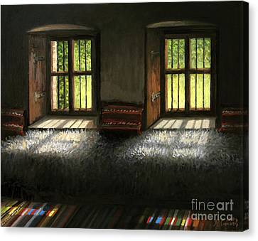 Window To The Past Canvas Print by Kiril Stanchev