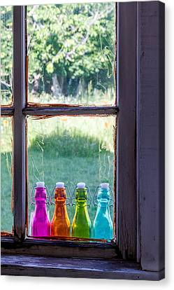 Window To The Past Canvas Print by Teri Virbickis