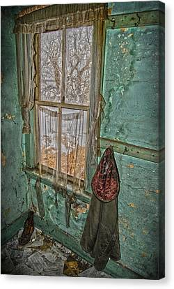 Window Watcher  Canvas Print by Empty Wall
