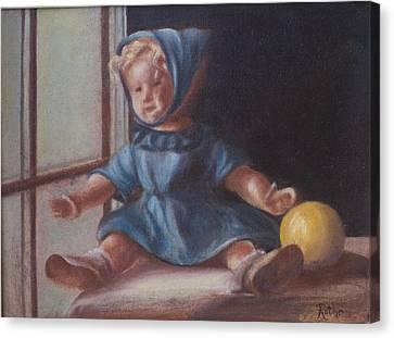 Window World Canvas Print by Ruthe Dawes