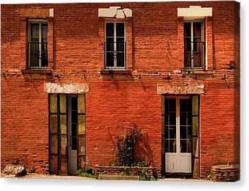 Windows And Doors Canvas Print