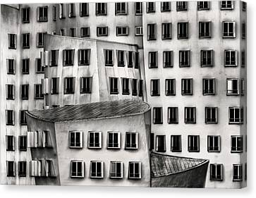 Repeat Canvas Print - Windows by Dennis Mohrmann