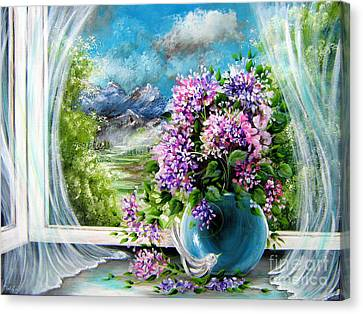 Windows Of My World Canvas Print by Patrice Torrillo