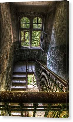 Windows Of Old Canvas Print by Nathan Wright