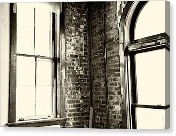 Windows Of Time Canvas Print by Karol Livote