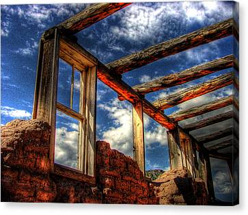 Windows To The Past Canvas Print by Timothy Bischoff