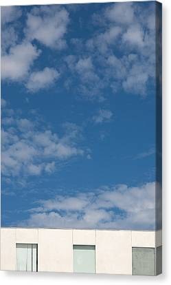 Windows To The Sky Canvas Print by Peter Tellone