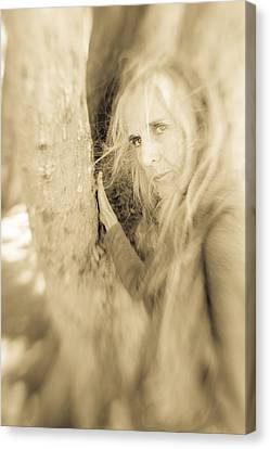 Windows To The Soul Canvas Print by Nancy Taylor