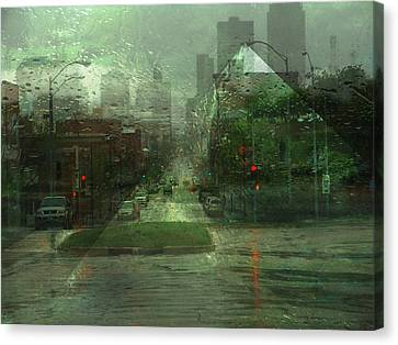 Windshield Canvas Print